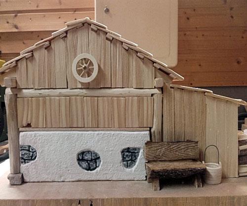 alpenl ndische krippe von gregor reichmann das krippenhaus. Black Bedroom Furniture Sets. Home Design Ideas
